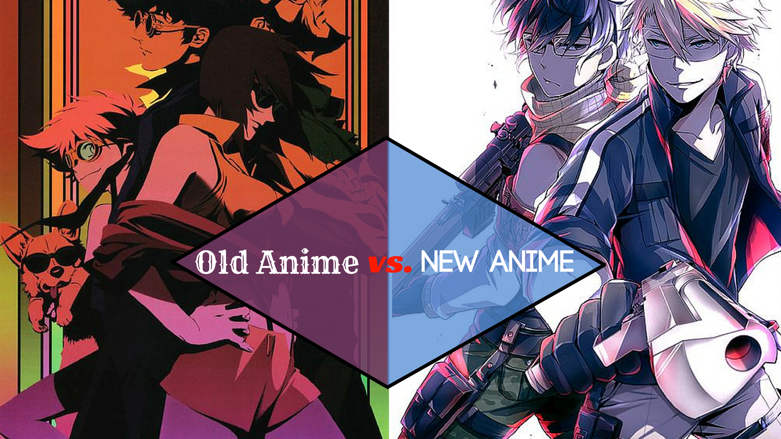 Old School Anime vs. New Anime  Which Is Better?  UNOTAKU Anime Blog